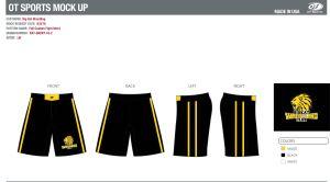 Gear--fight shorts